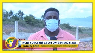 More Concerns about Medical Oxygen Shortage in Jamaica | TVJ News - March 20 2021