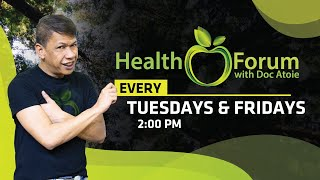 🍏 [LIVE] 2 March  2021 | | Health Forum with Doc.Atoie.