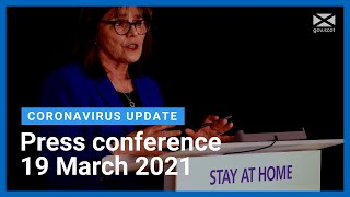 Coronavirus update from the Health Secretary: 19 March  2021