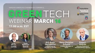 SACC USA | Green Tech Webinar | March 16 2021