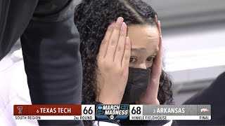Wild Ending To No. 3 Arkansas vs. No. 6 Texas Tech