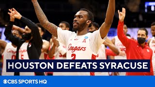 March Madness: Houston Beats Syracuse, Sweet 16 Recap | CBS Sports HQ