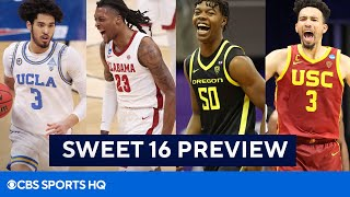 March Madness Sweet 16 Preview: Alabama, USC, Oregon, UCLA | CBS Sports HQ