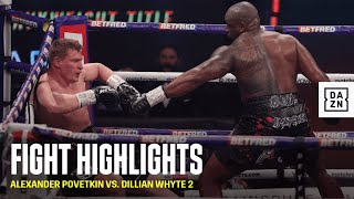 HIGHLIGHTS | Povetkin vs. Whyte 2