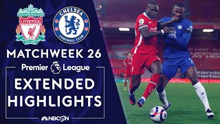 Liverpool v. Chelsea | PREMIER LEAGUE HIGHLIGHTS | 3/4/2021 | NBC Sports