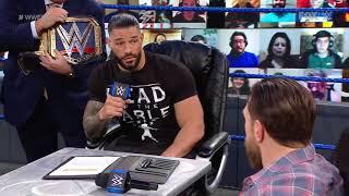 WWE Smackdown Row 13 March 2021# Roman Reigns//Vs Daniel Bryan# USA Network# fake video