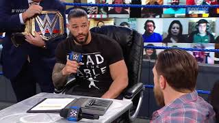 WWE Smackdown Row 13 March 2021# Roman Reigns//Vs Daniel Bryan# USA Network# fake video