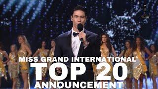 MISS GRAND INTERNATIONAL TOP 20 ANNOUNCEMENT.