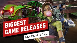 The Biggest Game Releases of March 2021