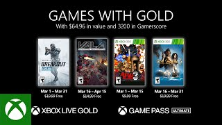 Xbox - March 2021 Games with Gold