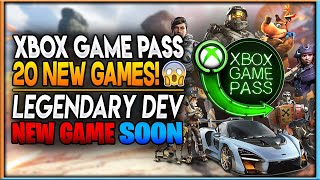 Xbox Just Revealed 20 Day 1 Game Pass Games | Legendary Developer to Announce New Game | News Dose
