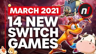 14 Exciting New Games Coming to Nintendo Switch - March 2021