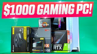 Budget $1000 RTX 3070 Gaming PC for March 2021! Complete Build Guide + Gaming Benchmarks!