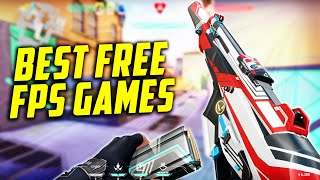 TOP Free To Play FPS Games 2021 | The BEST Free FPS Games
