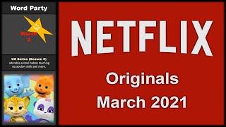 NETFLIX ORIGINALS COMING IN MARCH 2021 // NEW Netflix Originals this March 2021 (EARLY UPDATE)
