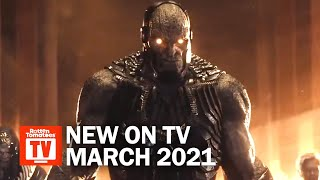 Top TV Shows Premiering in March 2021 | Rotten Tomatoes TV