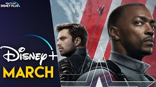 What's Coming To Disney+ In March 2021 (US)