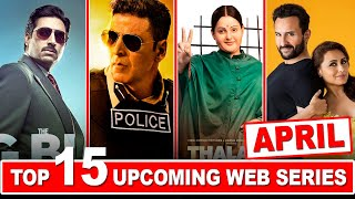 Top 15 Upcoming Web Series and Movies in April 2021 | Netflix | Amazon Prime | Disney Hotstar
