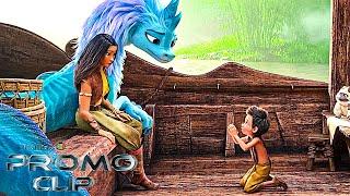 RAYA AND THE LAST DRAGON Clip 'Villainous Druun' Official Promo (2021) Disney Warrior Princess HD