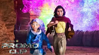 RAYA AND THE LAST DRAGON Clip 'Action-Packed Escape' Official Promo (2021) Disney Warrior Princess