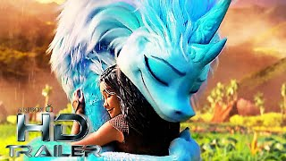 RAYA AND THE LAST DRAGON 'The Quest' Official Trailer 2 (NEW 2021) Disney Warrior Princess Animation