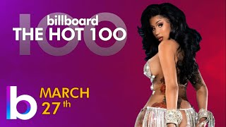 Billboard Hot 100 Top Singles This Week (March 27th, 2021)
