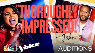 """Ciana Pelekai's Cool Performance of Tones and I's """"Dance Monkey"""" - The Voice Blind Auditions 2021"""