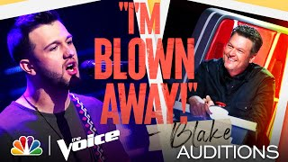 """Connor Christian Rocks on Gary Clark Jr.'s """"Bright Lights"""" - The Voice Blind Auditions 2021"""