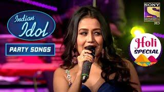 Neha Kakkar ने दिया एक Mesmerizing Performance | Indian Idol - Party Songs Mash-Up | Holi Special