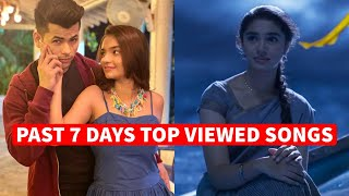Past 7 Days Most Viewed Indian Songs on Youtube [22 March 2021]