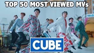 [TOP 50] Most Viewed CUBE Music Videos (March 2021)
