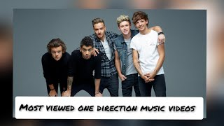 TOP 17 | MOST VIEWED ONE DIRECTION MUSIC VIDEOS | March 2021