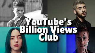 Songs That Joined YouTube's Billion Views Club This Month March 2021!