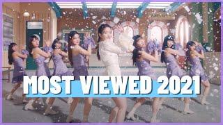 MOST VIEWED K-POP MUSIC VIDEOS OF 2021 | MARCH (WEEK 4)