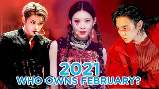 The Most Viewed KPOP MVs of 2021 - February!