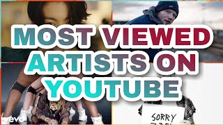 Most viewed artists on YouTube + Theire most viewed song ( Updated February 2021 )