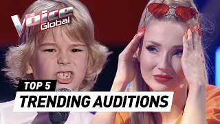 MOST TRENDING Blind Auditions of 2021 in The Voice Kids