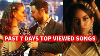 Past 7 Days Most Viewed Indian Songs on Youtube [15 March 2021]