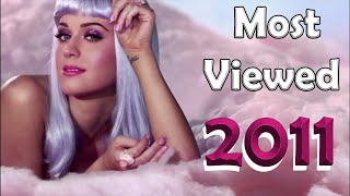 Most viewed music videos published in 2010 (March 2021 No. 58)