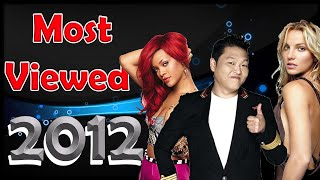 Most viewed music videos published in 2012 March 2021 #56