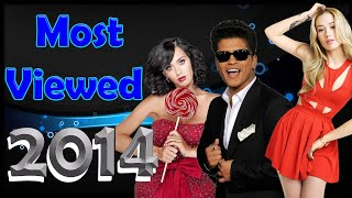 Most viewed music videos published in 2014 March 2021 #54