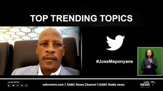 Top trending  topics, 25 March 2021