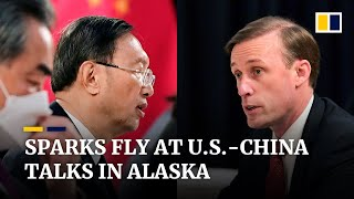 Gloves off at top-level US-China summit in Alaska with on-camera sparring