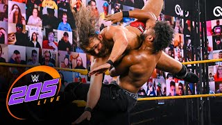 "August Grey vs. Ashante ""Thee"" Adonis: WWE 205 Live, March 26, 2021"