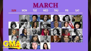 The history behind Women's History Month