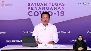 LIVE: Perkembangan Penanganan COVID-19 di Indonesia per 15 April 2021 oleh Prof. Wiku Adisasmito