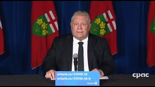 COVID-19: Ontario extends stay-at-home order, announces additional restrictions – April 16, 2021