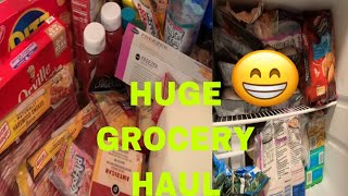 HUGE GROCERY STORE HAUL   Publix Supermarket   FEEDING A LARGE FAMILY