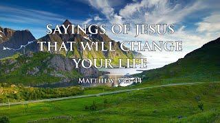 Pastor Dan Fliehs - Sayings of Jesus that will change your life - 04/11/2021 PM