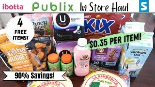 Publix Couponing Haul 4/14-4/20   $0.35 per Item + 4 Freebies!